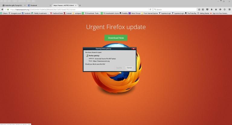 firefox Malware